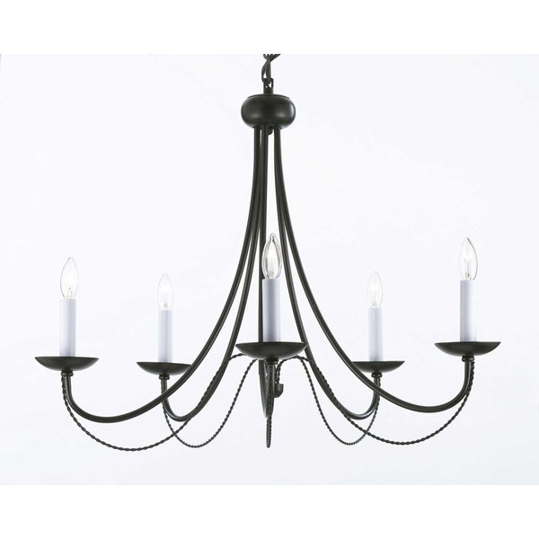 Rosdorf Park Bowey 5-Light Chandelier & Reviews | Wayfair
