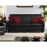 USING BLACK LEATHER SOFAS FOR   YOUR HOME DÉCOR