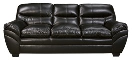 Tassler DuraBlend - Black - Sofa | 4650138 | Leather Sofas