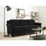 Because everyone needs a black   sofa!