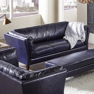Reasons the blue leather couch of best fit for your living ...