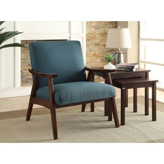 Buy Accent Chairs, Blue Living Room Chairs Online at Overstock | Our