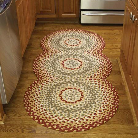Mill Village Braided Rug Runner by Park Designs
