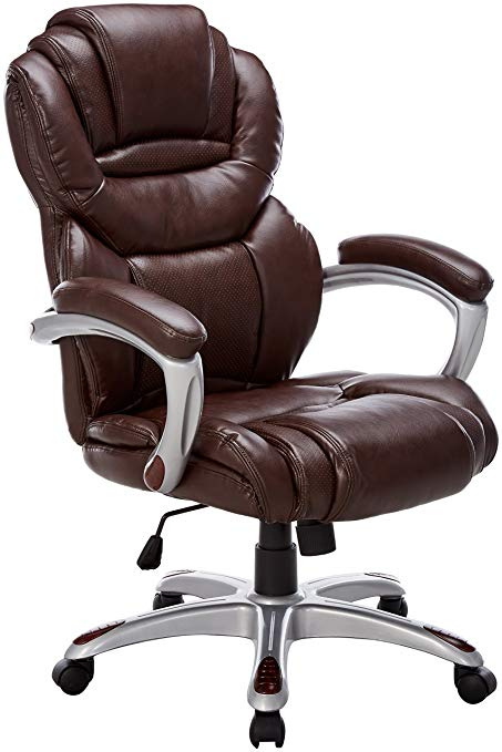 Brown leather office chair and   its benefits