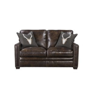Light Brown Leather Loveseat | Wayfair