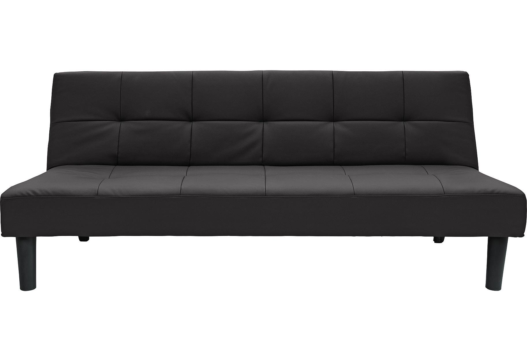 Buy Argos Home Patsy 2 Seater Clic Clac Sofa Bed - Black | Sofa