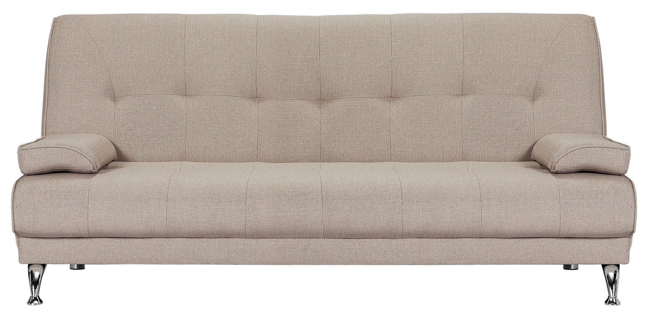 Buy Argos Home Sicily 2 Seater Clic Clac Sofa Bed - Natural | Sofa