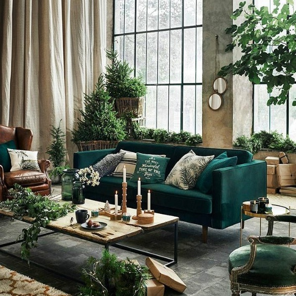 Dark Green Is The Latest Trend In Interior Design | LIFESTYLE