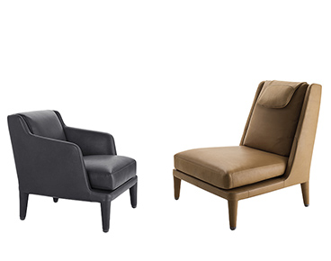 Modern Armchairs Made in Italy