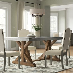 Distressed Finish Kitchen & Dining Tables You'll Love | Wayfair