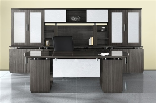 Mayline Sterling High End Executive Furniture Set