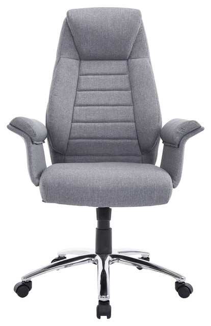 HomCom High Back Fabric Executive Office Chair - Contemporary