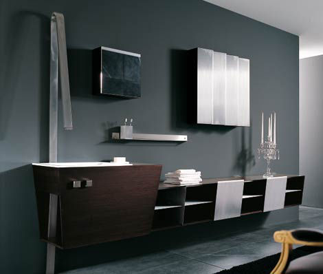 Bath furniture from Geda - the new Maste Collection -