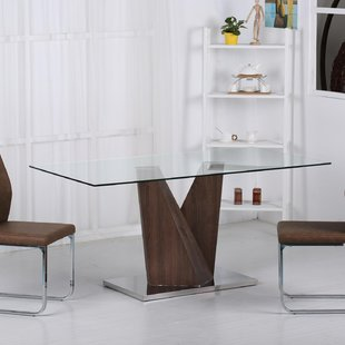 Large Glass Dining Table | Wayfair.co.uk