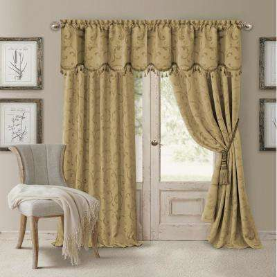 Gold - Curtains & Drapes - Window Treatments - The Home Depot