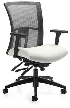 Global, Vion Medium Back Tilter - Track Office Furniture. Track Office  Furniture · High-end Office Chairs