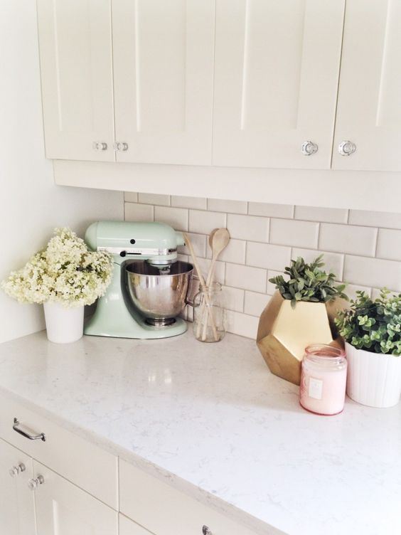 10 Ways to Style Your Kitchen Counter Like a Pro | Take me home