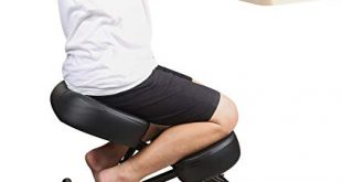 Amazon.com: DRAGONN Ergonomic Kneeling Chair, Adjustable Stool for