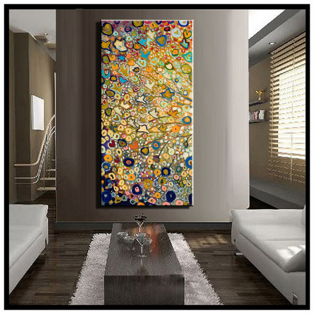 High quality large canvas wall art abstract modern decorative white