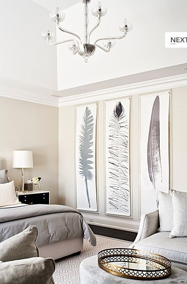 Decorating Large Walls - Large Scale Wall Art Ideas | Living | Home
