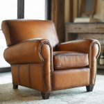 Get leather armchair to   enhance the living room