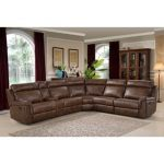 Trendy leather couches   sectional