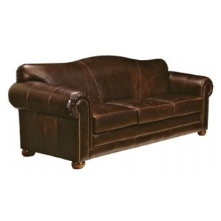 Top Grain Leather Sleeper Sofa | Wayfair
