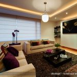 Enjoy living room lighting   with led
