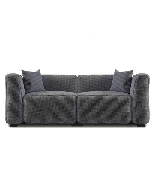 The Soft Cube: Love Seat 2 person Sofa | Expand Furniture - Folding