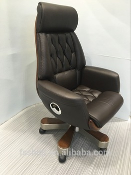 Hot sale luxury wooden executive office chair, View office chair