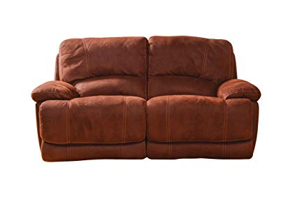 Amazon.com: Valeri Microfiber Reclining Loveseat: Kitchen & Dining