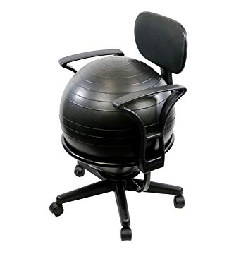 Amazon.com: CanDo Metal Ball Chair, 22