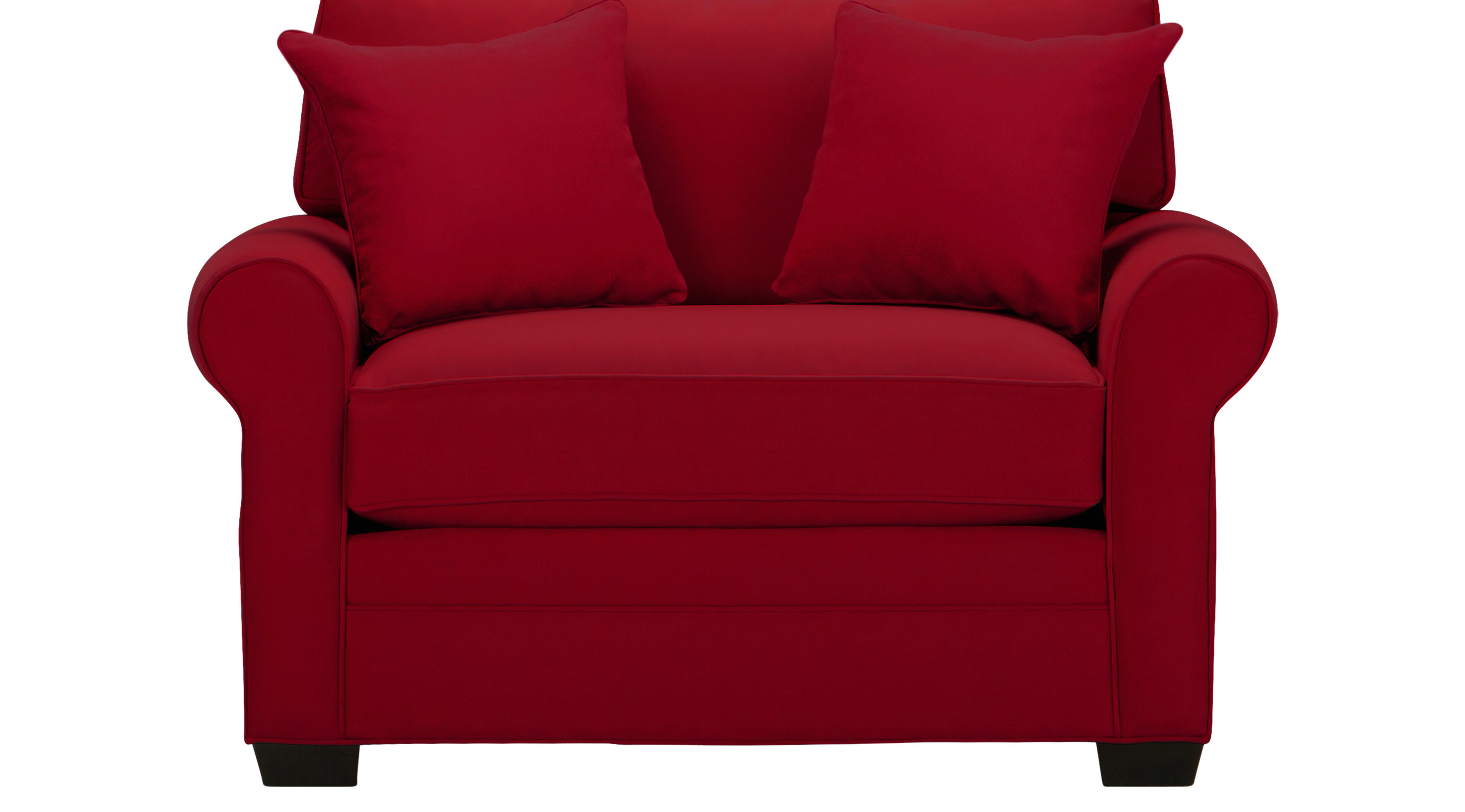 $555.00 - Bellingham Cardinal (red) Chair - Oversized - Contemporary