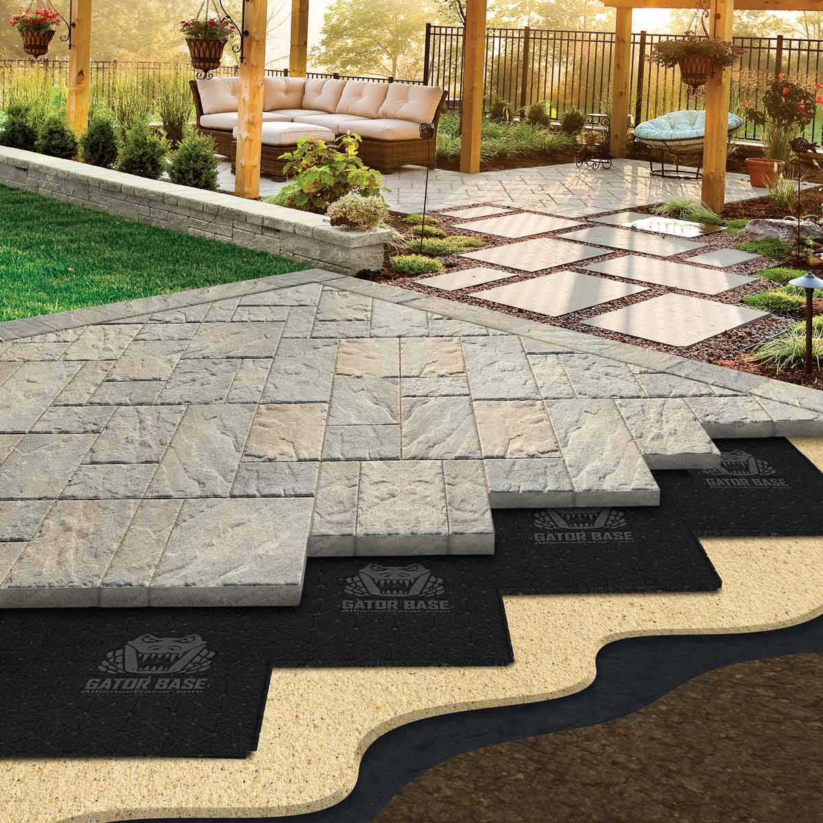 easier paver base patios paver patio base