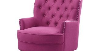 Dusty Pink Chair | Wayfair