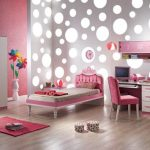 Ideas of stylish pink bedrooms   for girls