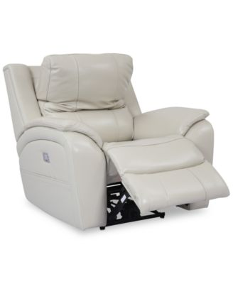 Power recliners leather at a   glance?