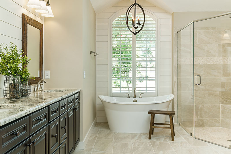 Whether you already have plans or need a new concept to completion design,  the experienced Yeager team is the right choice for your Tampa bathroom  remodel