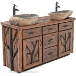 Rustic bathroom vanities   perfectly suits master beds