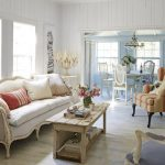An overview of shabby chic   living room