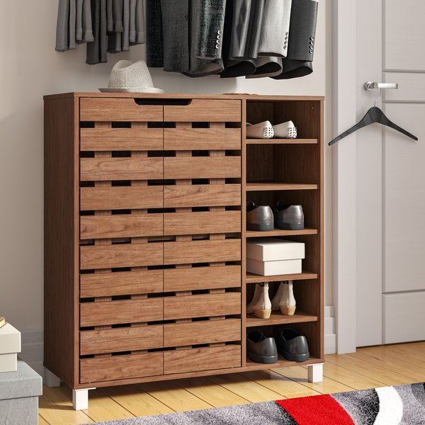 Impressive shoe storage for   keeping all your shoes