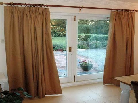 Sliding Glass Door Curtains |Cute Sliding Glass Door Curtains - YouTube