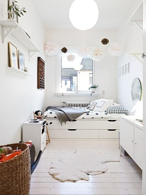 35 Brilliant Small Space Designs | Homie Places | Pinterest