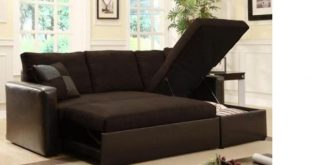 Modern Sofa Bed with Storage Chase