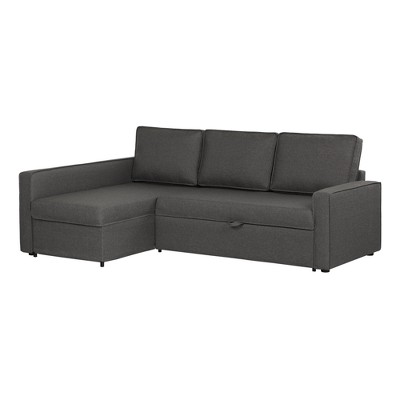 Live It Cozy Sectional Sofa Bed With Storage - South Shore : Target