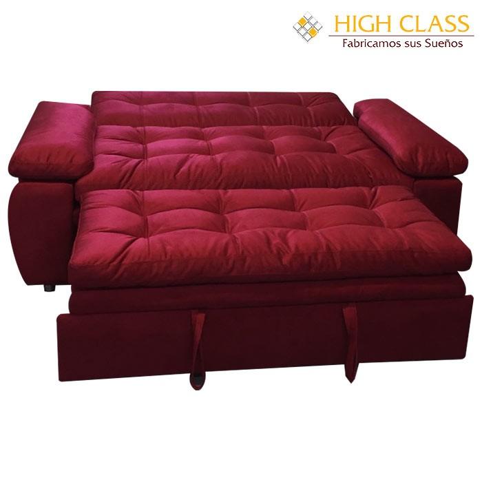 Sofá cama HIGH CLASS Car Yoga Rojo