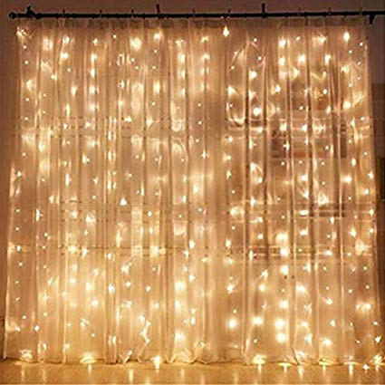 Amazon.com : Twinkle Star 300 LED Window Curtain String Light for
