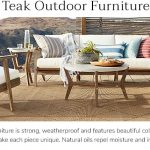 TEAK OUTDOOR FURNITURE TO   ACCENTUATE YOUR DECK OR GARDEN