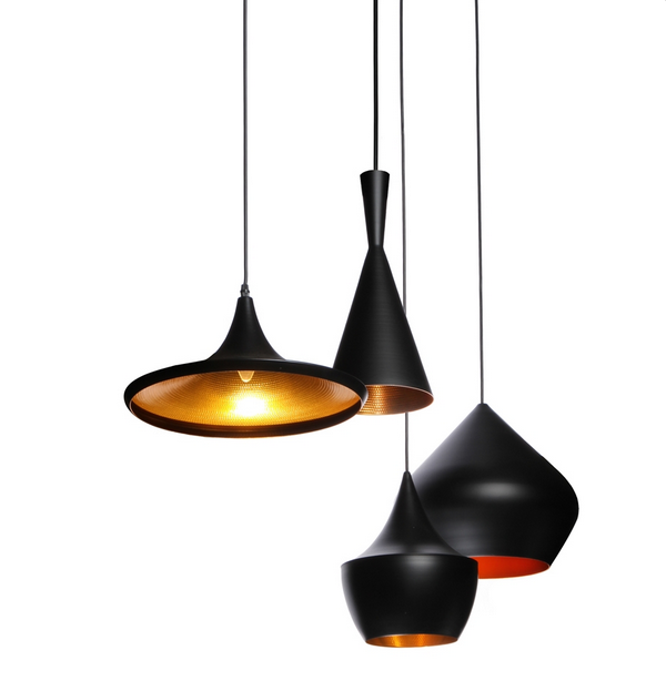Tom Dixon beat light pendants reproduction - The Modern Source