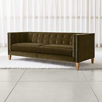 Velvet Sofas | Crate and Barrel